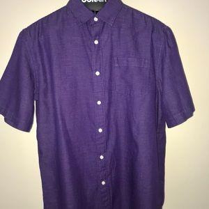 Men's purple shirt